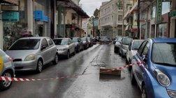 Απίστευτο & επικίνδυνο: Καλώδιο της ΔΕΗ στο οδόστρωμα στα Χανιά