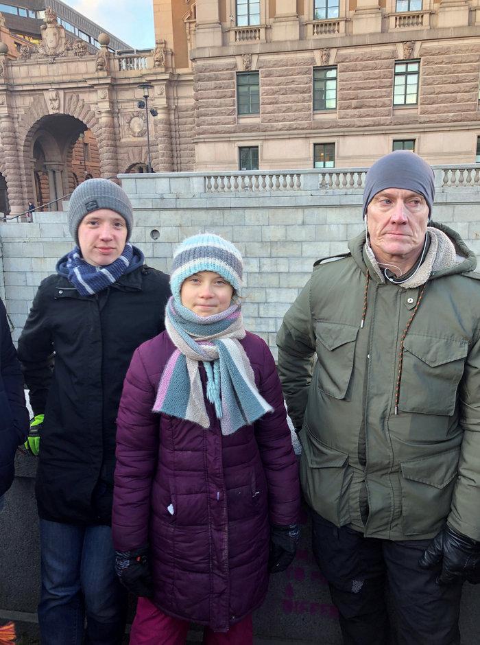 Με 7ωρη διαδήλωση γιόρτασε τα γενέθλιά της η Γκρέτα Τούνμπεργκ