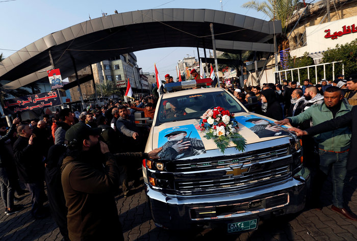 Κηδεία Σουλεϊμανί: Οργή και αντιαμερικανικά συνθήματα - εικόνα 2