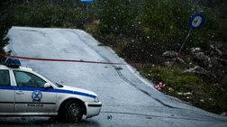 Διακοπή κυκλοφορίας λόγω χιονόπτωσης στην Καλοπoύλα Υμηττού