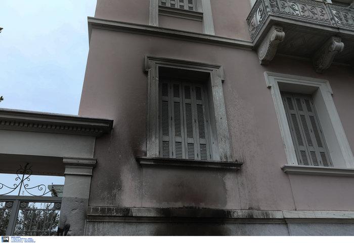 Επίθεση με γκαζάκια στο ίδρυμα Μητσοτάκη - εικόνα 5