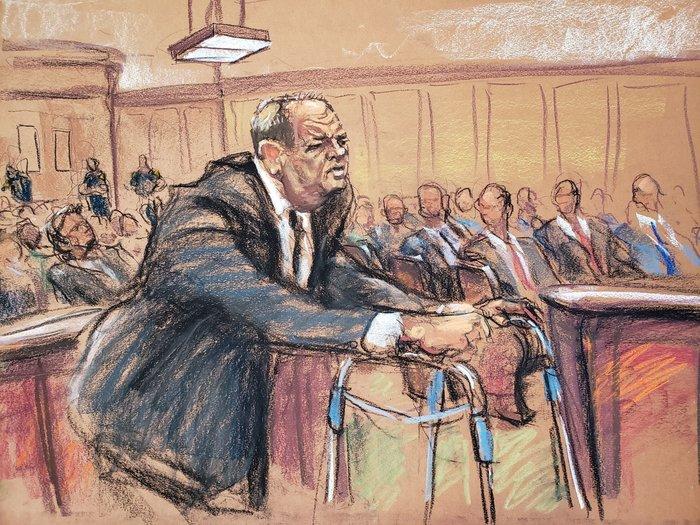 Δίκη Γουάινσταϊν: Με «π» πήγε ο άλλοτε πανίσχυρος παραγωγός