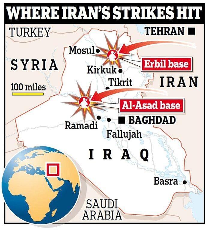 Κόλαση η Μέση Ανατολή: «Θα σας κόψουμε το πόδι», λέει το Ιράν στις ΗΠΑ