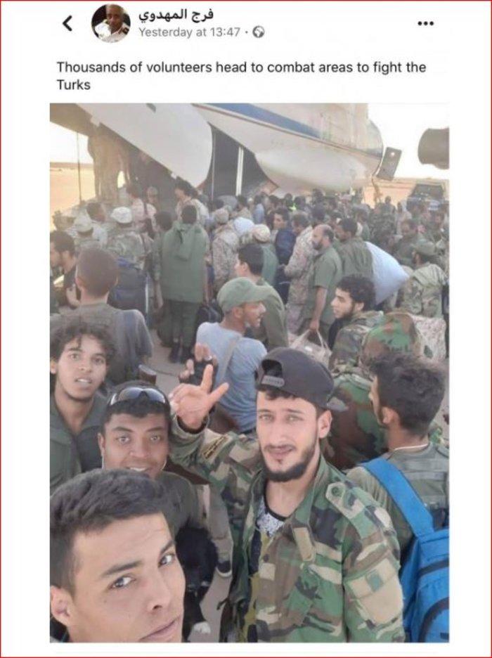 Ναύαρχος Λιβύης: Χιλιάδες εθελοντές έτοιμοι να πολεμήσουν τους Τούρκους