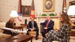 «Σε χρίζω Πρώτη Κυρία!» - Τι είπε ο Τραμπ στη Μαρέβα