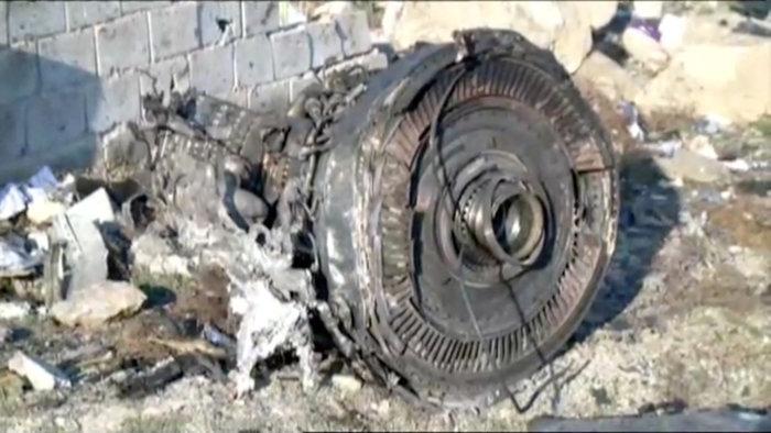 Ιράν: Το μοιραίο Boeing είχε πάρει φωτιά στον αέρα