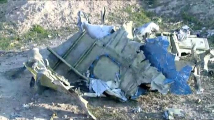 Ιράν: Το μοιραίο Boeing είχε πάρει φωτιά στον αέρα - εικόνα 2
