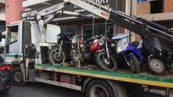 800 παρατημένα μηχανάκια στην Αθήνα μαζεύει ο Δήμος