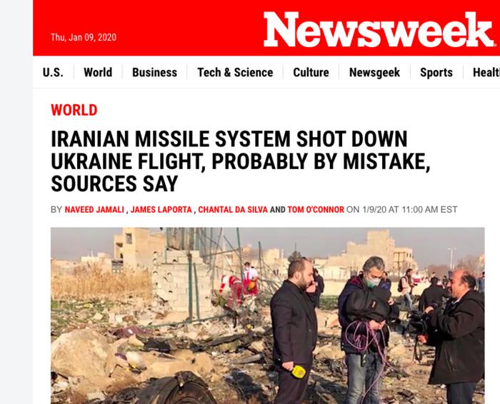 Το δημομσίευμα του Newsweek