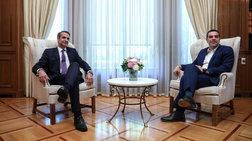 «Σφίγγα» για Πρόεδρο Δημοκρατίας ο Μητσοτάκης στους αρχηγούς