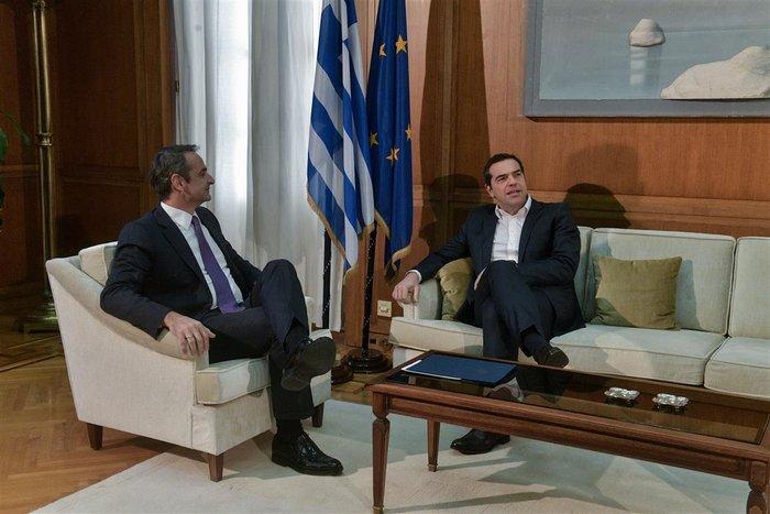 Τσίπρας μετά τη συνάντηση με Μητσοτάκη: «Με προβληματίζουν οι εξελίξεις» - εικόνα 4