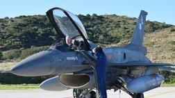Δείτε τον Αρχηγό ΓΕΕΘΑ που πέταξε μόνος του με F16 στη Σκύρo