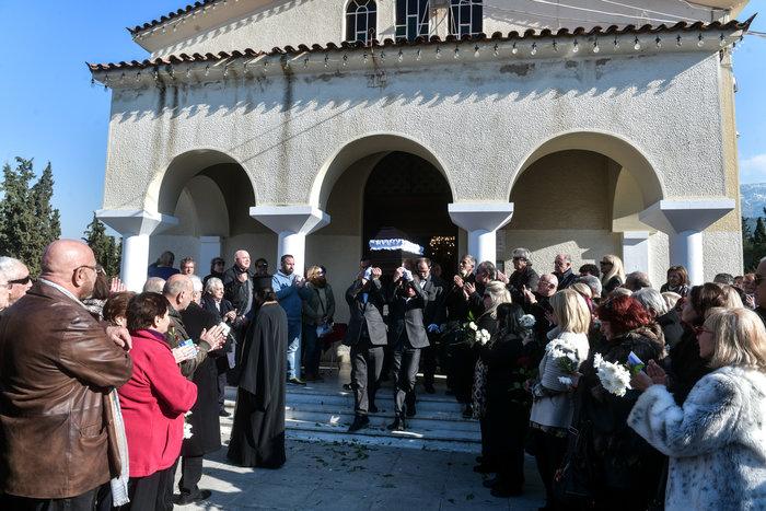 Έρρικα Μπρόγιερ: Το «τελευταίο αντίο» στο Νεκροταφείο Ζωγράφου