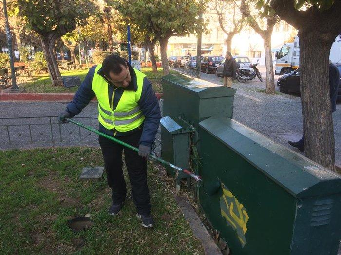 Ο δήμος Αθηναίων καθάρισε και την πλατεία Αττικής - εικόνα 3
