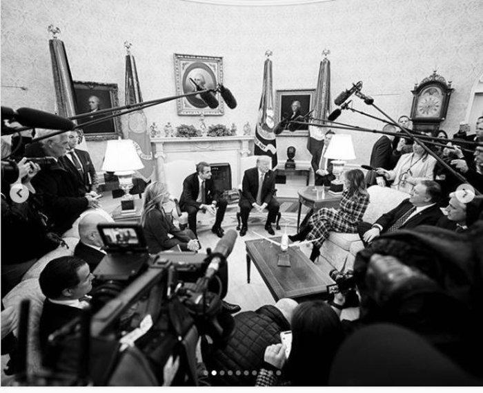 10 αδημοσίευτες φωτο από το ταξίδι Μητσοτάκη στις ΗΠΑ
