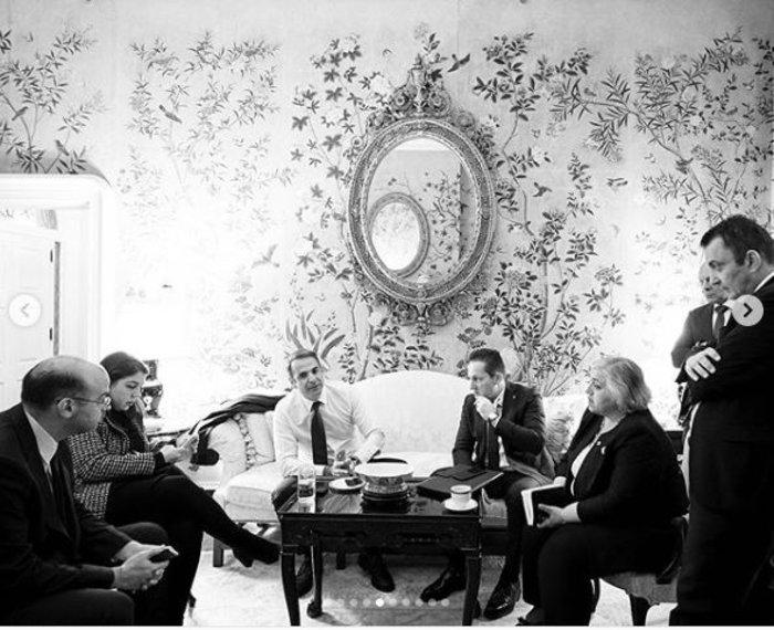 10 αδημοσίευτες φωτο από το ταξίδι Μητσοτάκη στις ΗΠΑ - εικόνα 2