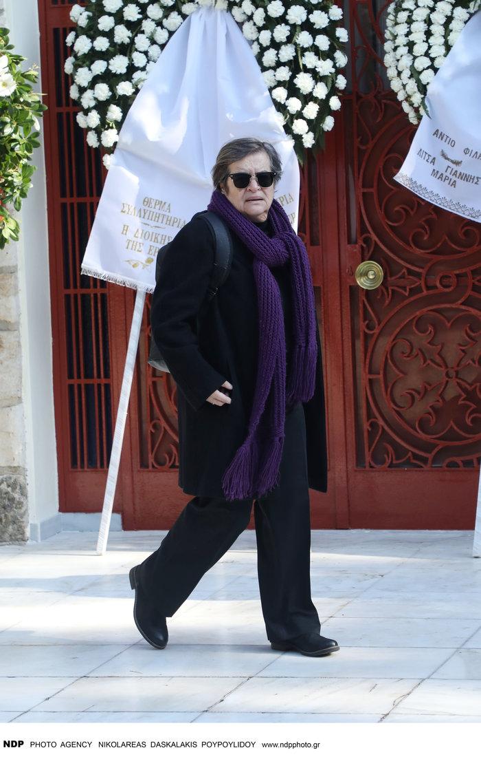 Το τελευταίο αντίο στη δημοσιογράφο Χριστίνα Λυκιαρδοπούλου - εικόνα 3