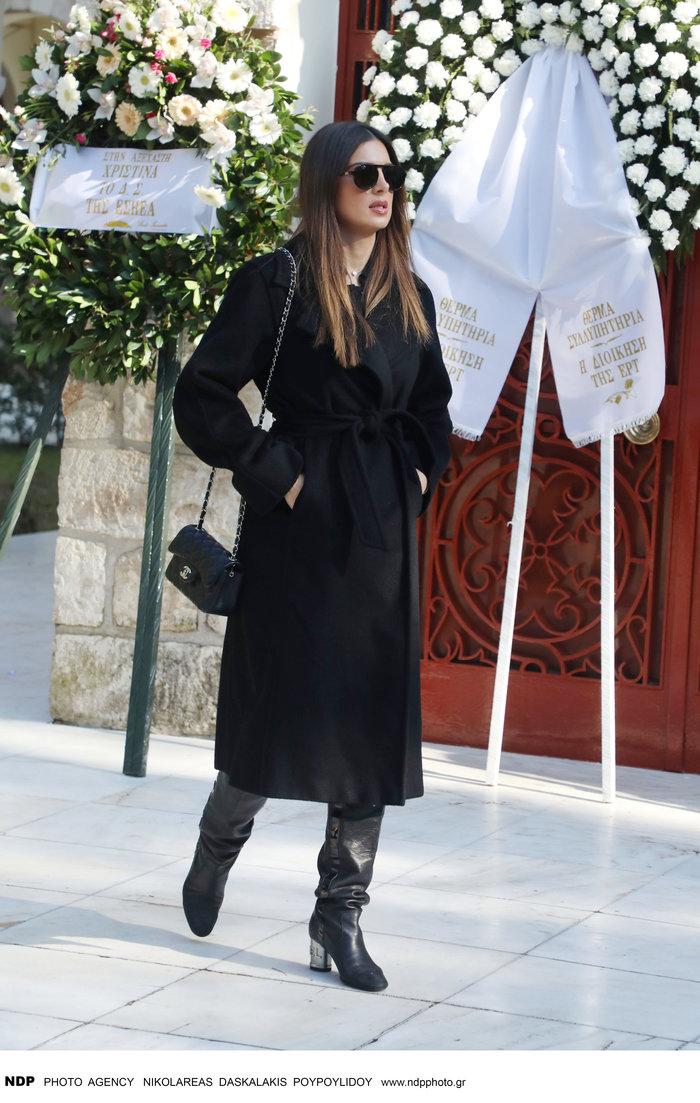 Το τελευταίο αντίο στη δημοσιογράφο Χριστίνα Λυκιαρδοπούλου - εικόνα 4