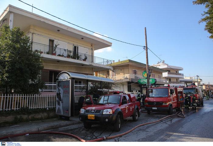 Ετσι έπιασε φωτιά στα Μελίσσια: Αναψε γκαζάκι στην ντουλάπα - εικόνα 5