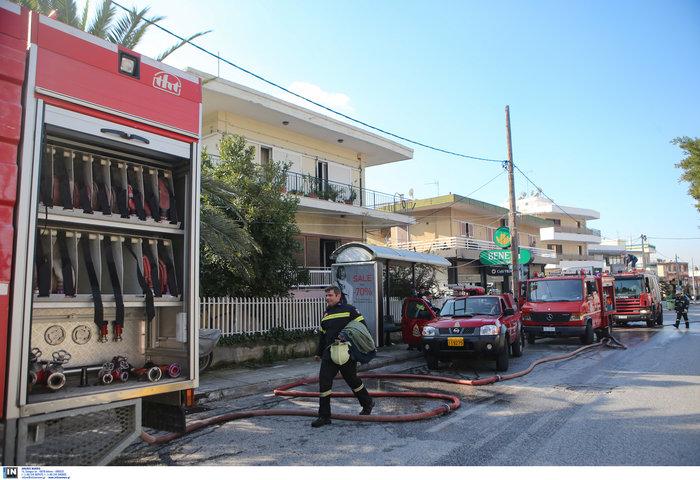 Ετσι έπιασε φωτιά στα Μελίσσια: Αναψε γκαζάκι στην ντουλάπα - εικόνα 6