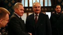 """Διορία δύο ημερών ζήτησε ο Χαφτάρ για τη """"συμφωνία της Μόσχας"""""""