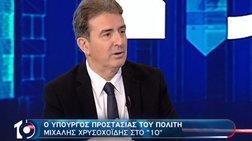 Χρυσοχοΐδης: Παιδιά πλουσίων οικογενειών μέσα στις καταλήψεις
