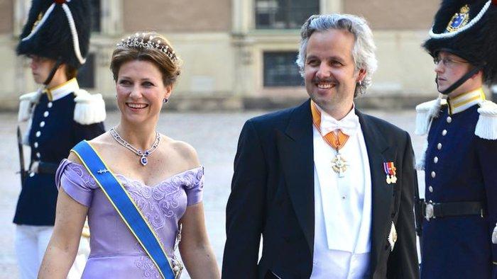 Πριγκίπισσα Μάρθα Λουίζα και Άρι Μπεν