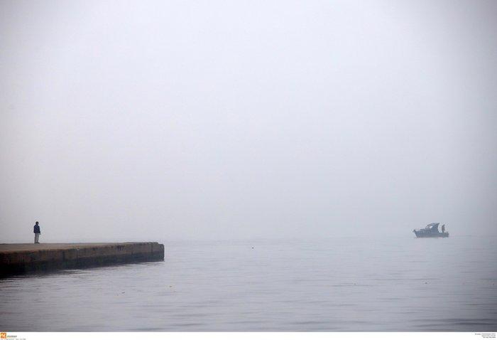 Ομίχλη στη Θεσσαλονίκη - Εντυπωσιακές εικόνες στο αεροδρόμιο Μακεδονία - εικόνα 5