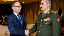 Γερμανός ΥΠΕΞ: Συμφώνησε σε κατάπαυση του πυρός στη Λιβύη ο Χαφτάρ