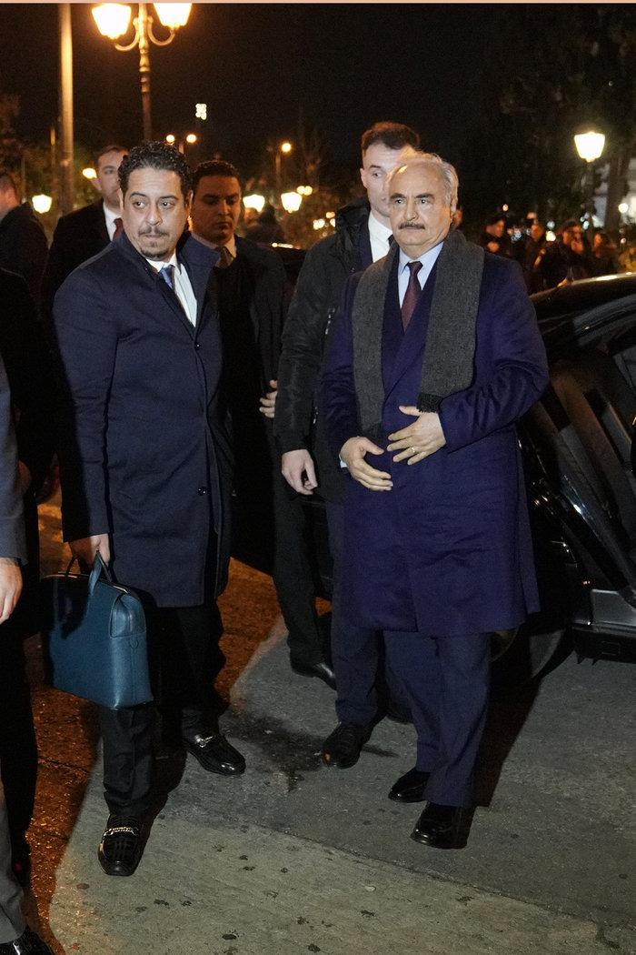 Στην Αθήνα ο Χαφτάρ πριν τη διάσκεψη του Βερολίνου για τη Λιβύη