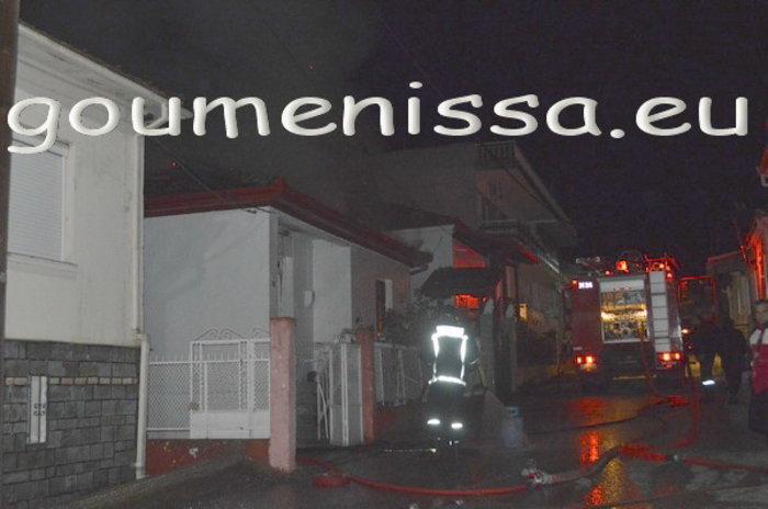 Τραγωδία στο Κιλκίς: Νεκρός από φωτιά σε σπίτι [εικόνες]