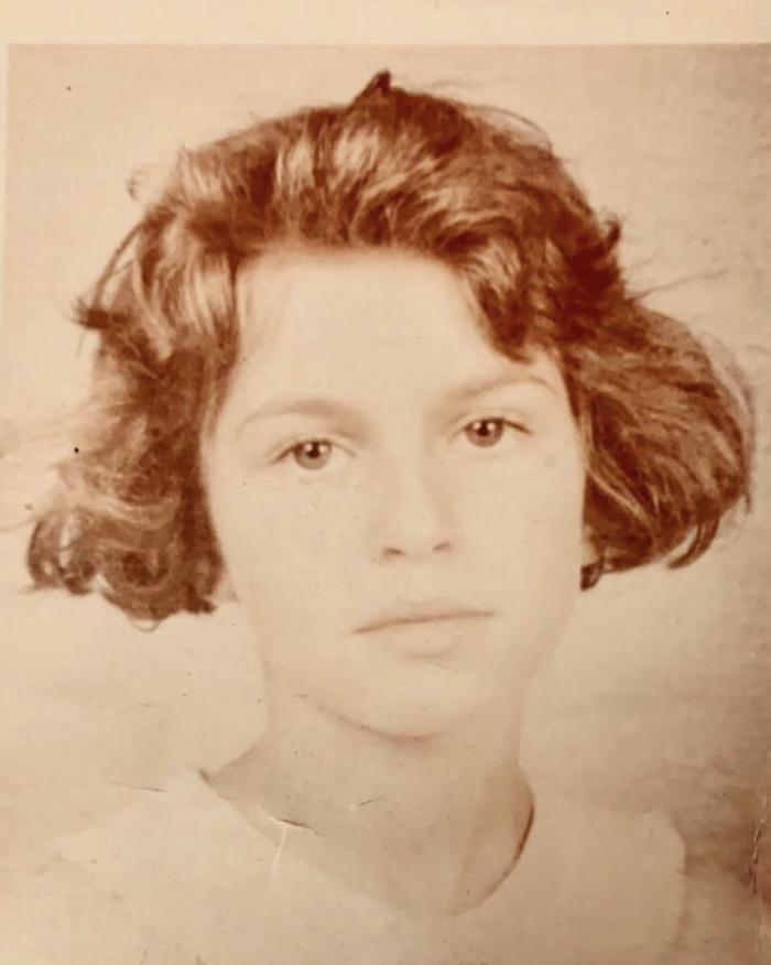 Σε ηλικία 10 ετών, το 1991/ Instagram