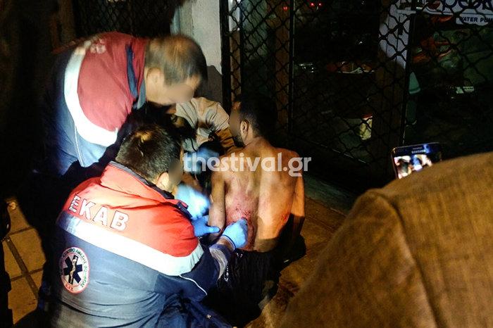Θεσσαλονίκη: Του επιτέθηκαν με μαχαίρια και ξύλα για 50 ευρώ-Εικόνες - εικόνα 2