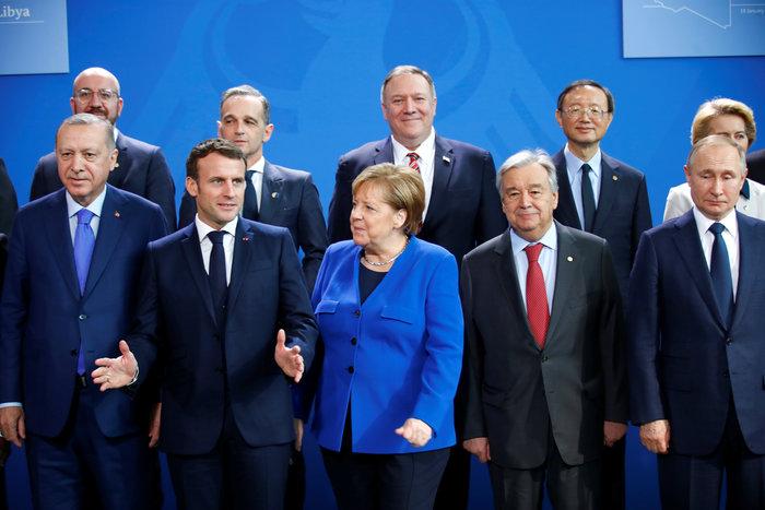 Εντονο παρασκήνιο κρίσιμη διάσκεψη του Βερολίνου για τη Λιβύη