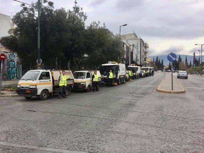 Μεγάλη επιχείρηση καθαριότητας από τον Δήμο Αθηναίων [εικόνες] - εικόνα 2