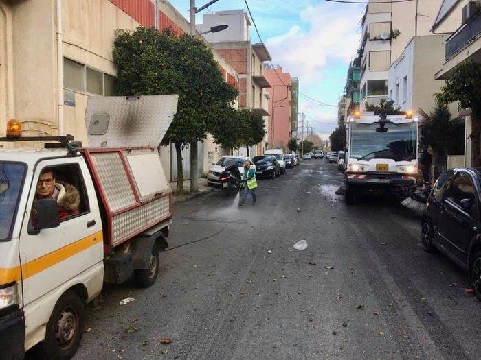 Μεγάλη επιχείρηση καθαριότητας από τον Δήμο Αθηναίων [εικόνες]