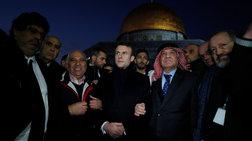 Έξαλλος ο Μακρόν με ισραηλινούς αστυνομικούς σε εκκλησία -Vid
