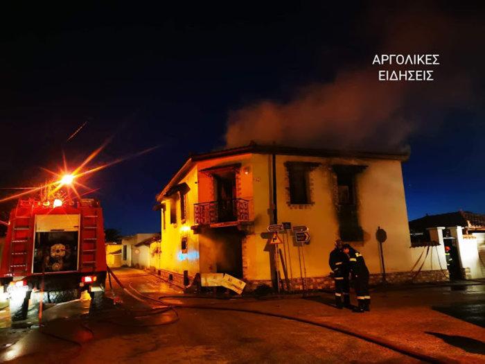 Πανικός σε σπίτι στην Αργολίδα - Φόβοι για δύο νεκρούς [εικονες] - εικόνα 3