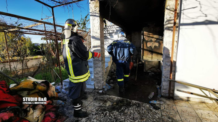 Τραγωδία στην Αργολίδα: Νεκρά δύο αδέλφια σε πυρκαγιά [εικόνες] - εικόνα 3