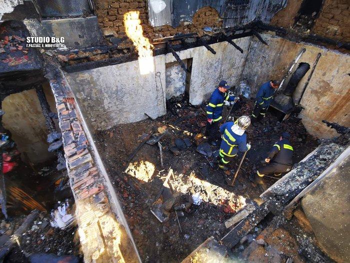 Τραγωδία στην Αργολίδα: Νεκρά δύο αδέλφια σε πυρκαγιά [εικόνες] - εικόνα 2