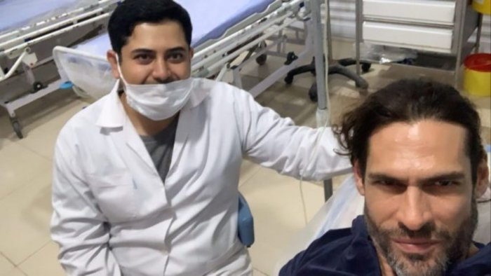 Σε νοσοκομείο του Ιράν ο Γιάννης Σπαλιάρας -Ανάρτηση Instagram