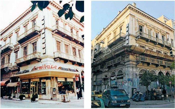 Αναγεννιέται το Μέγαρο Αλμυράντη στο κέντρο της Αθήνας