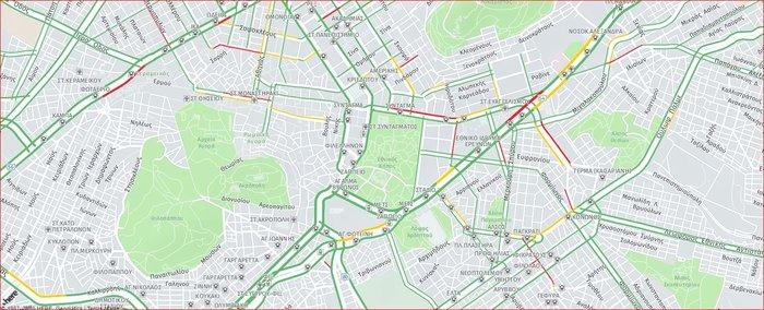 Κυκλοφοριακό κομφούζιο στην Αθήνα εξαιτίας συγκέντρωσης