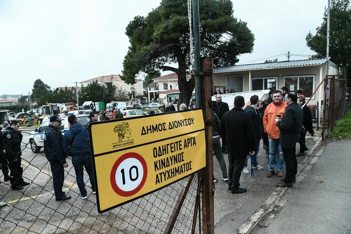 Αγρια δολοφονία στον Διόνυσο - Νεκρός υπάλληλος του δήμου - εικόνα 5