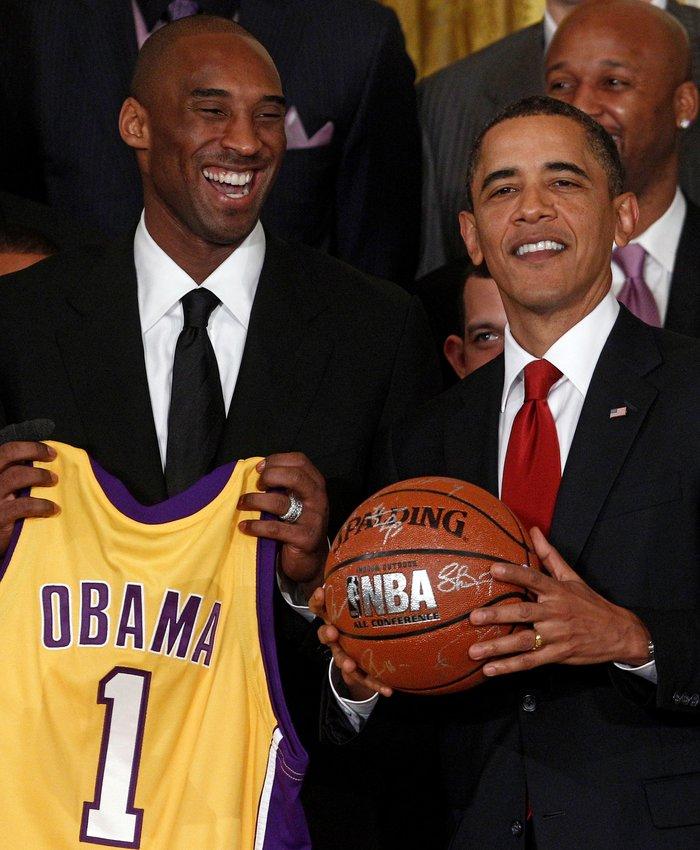 Συντετριμμένος και ο Μπαράκ Ομπάμα για τον Κόμπι Μπράιαντ
