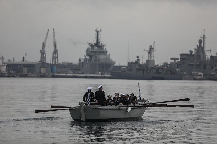 Γιατί ο αρχηγός Στόλου αποχώρησε με βάρκα και κωπηλάτες- Το τελετουργικό