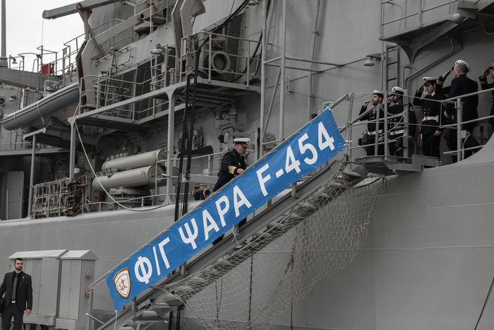 Γιατί ο αρχηγός Στόλου αποχώρησε με βάρκα και κωπηλάτες- Το τελετουργικό - εικόνα 10