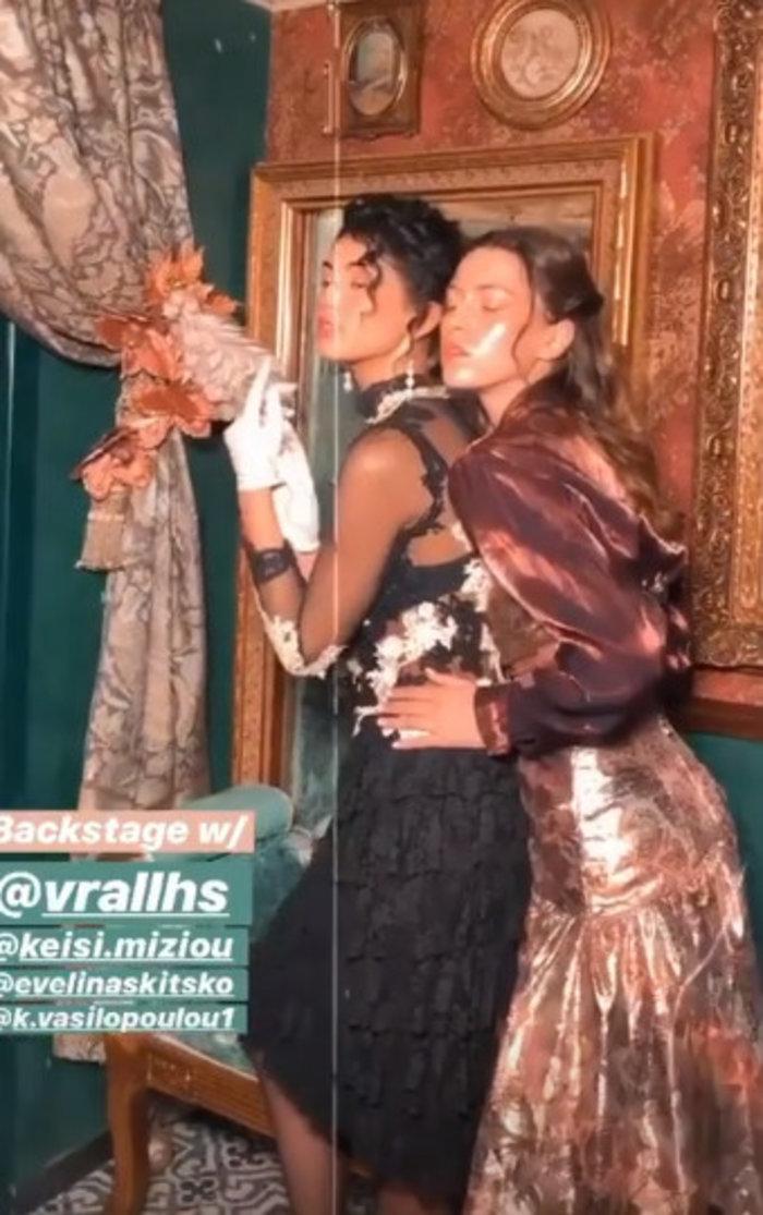 GNTM: Kέισι και Εβελίνα σε αισθησιακή vintage φωτογράφηση [Εικόνες] - εικόνα 2