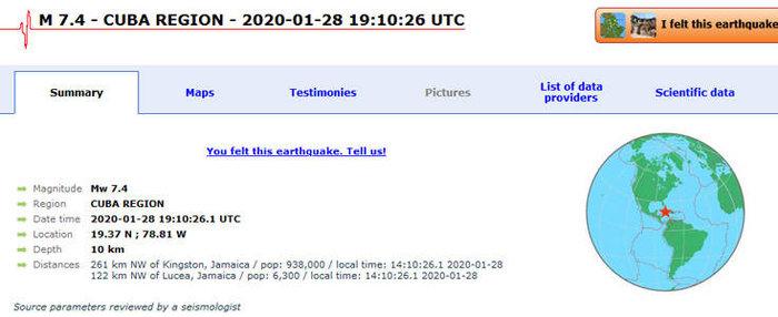 Σφοδρός σεισμός 7,7 ρίχτερ στην Καραϊβική - εικόνα 2