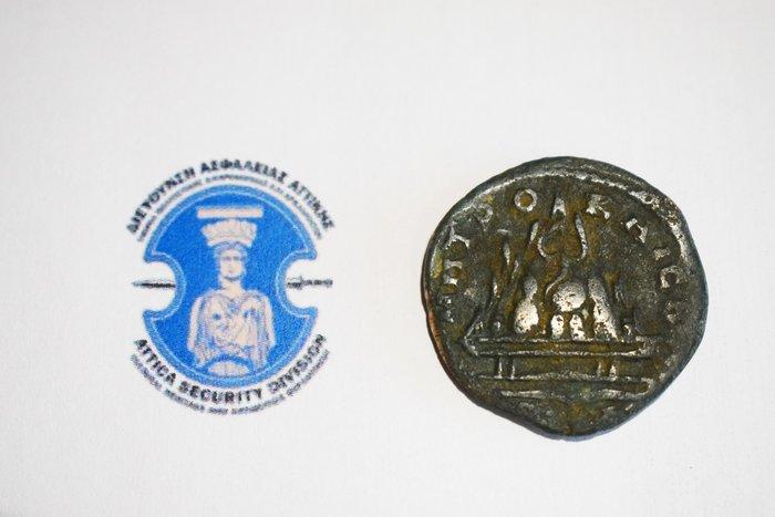 Συνελήφθη 42χρονος που κατείχε παράνομα ελληνορωμαϊκό νόμισμα